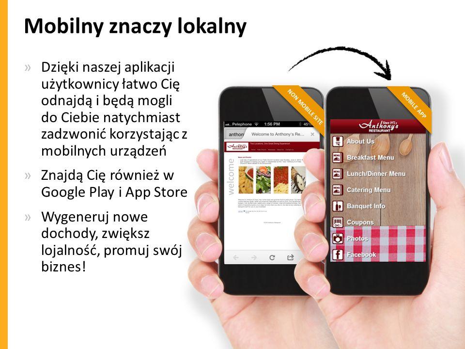 Mobilny znaczy lokalny
