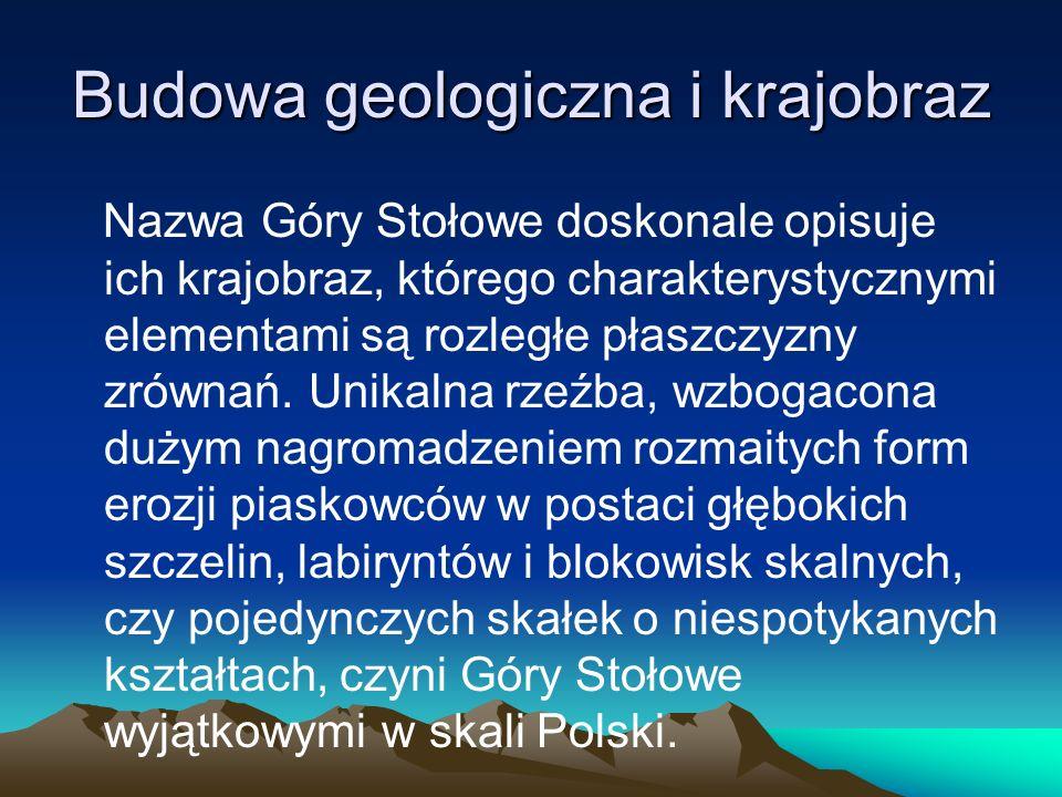 Budowa geologiczna i krajobraz