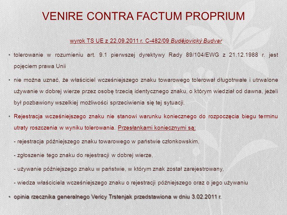 VENIRE CONTRA FACTUM PROPRIUM