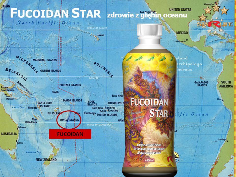 FUCOIDAN STAR zdrowie z głębin oceanu