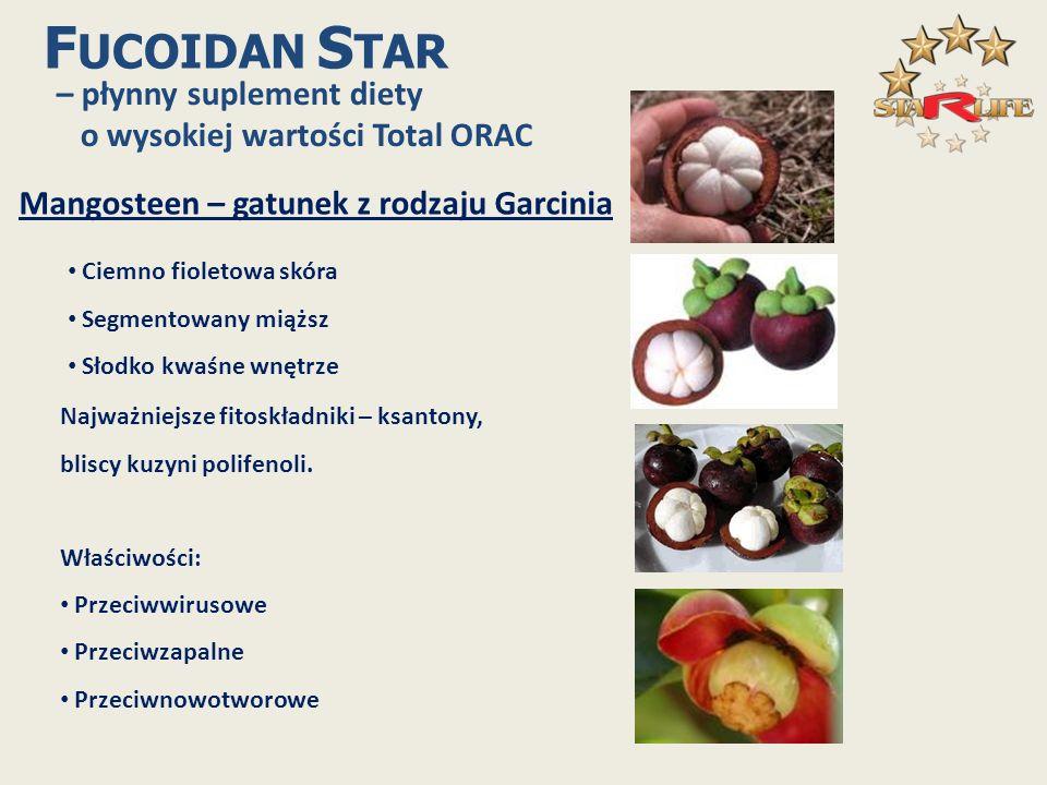 FUCOIDAN STAR – płynny suplement diety o wysokiej wartości Total ORAC