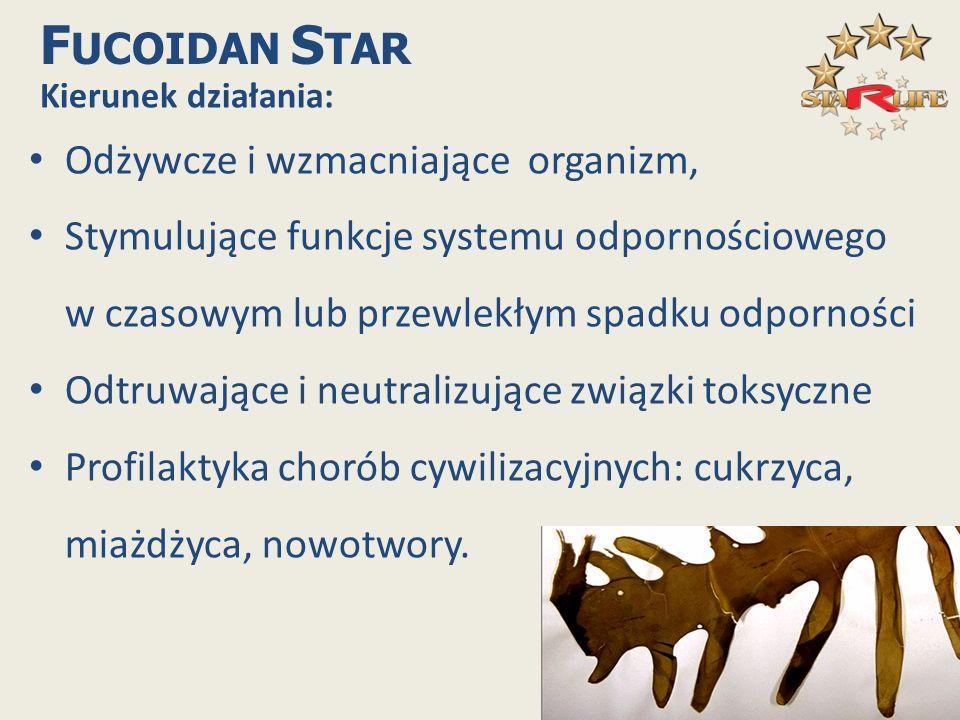 FUCOIDAN STAR Odżywcze i wzmacniające organizm,