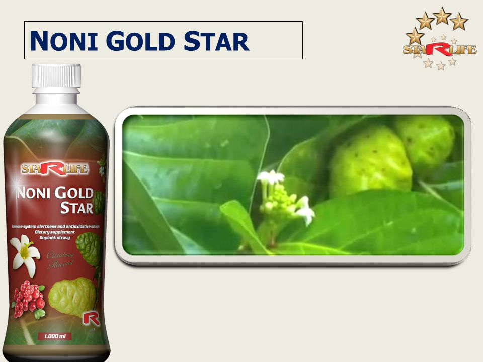 NONI GOLD STAR