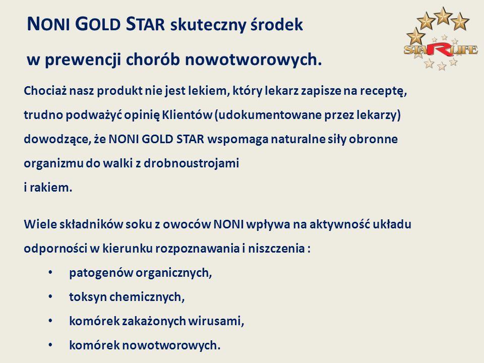 NONI GOLD STAR skuteczny środek
