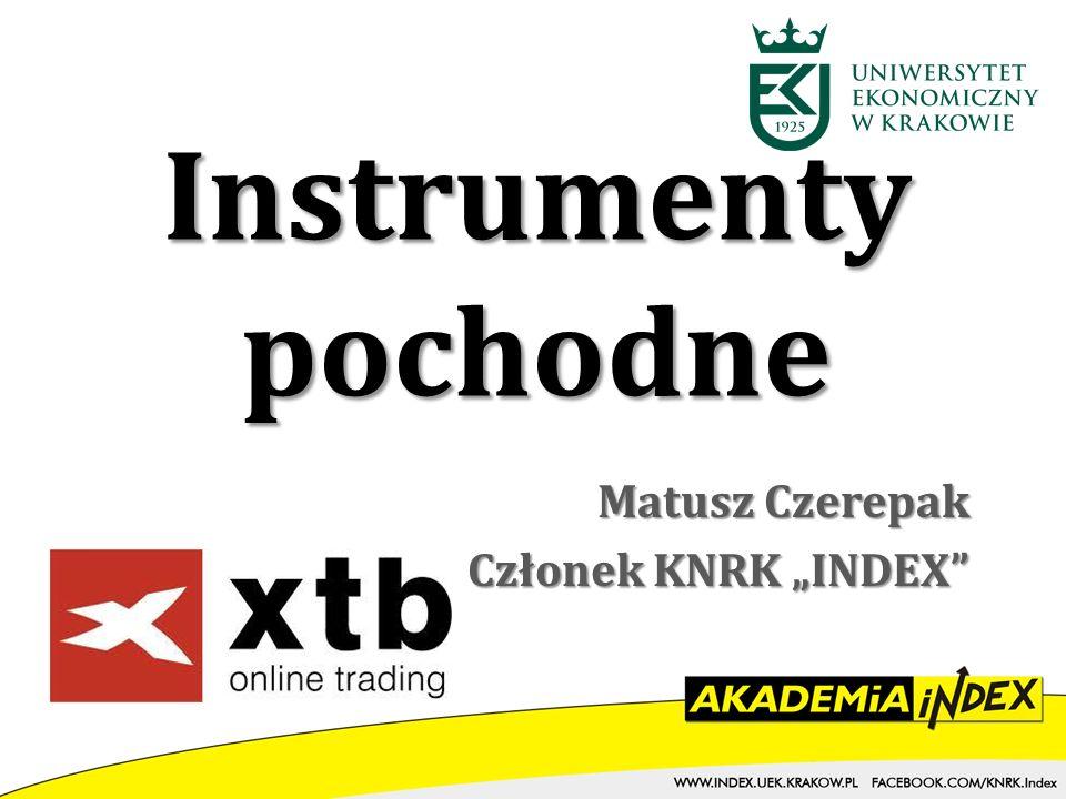 """Matusz Czerepak Członek KNRK """"INDEX"""