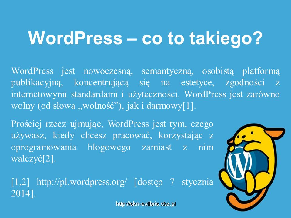 WordPress – co to takiego