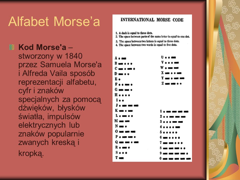 Alfabet Morse'a