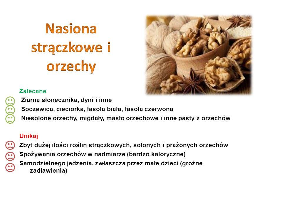Nasiona strączkowe i orzechy