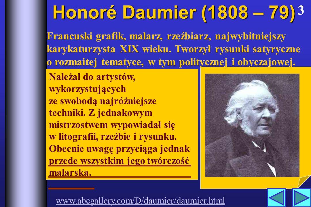 Honoré Daumier (1808 – 79) 3.