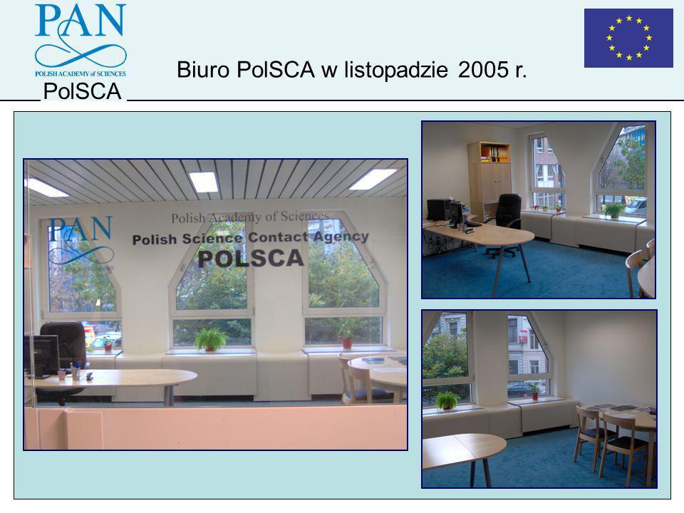 PolSCA Biuro PolSCA w listopadzie 2005 r.