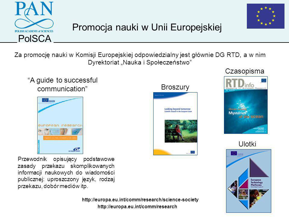 Promocja nauki w Unii Europejskiej