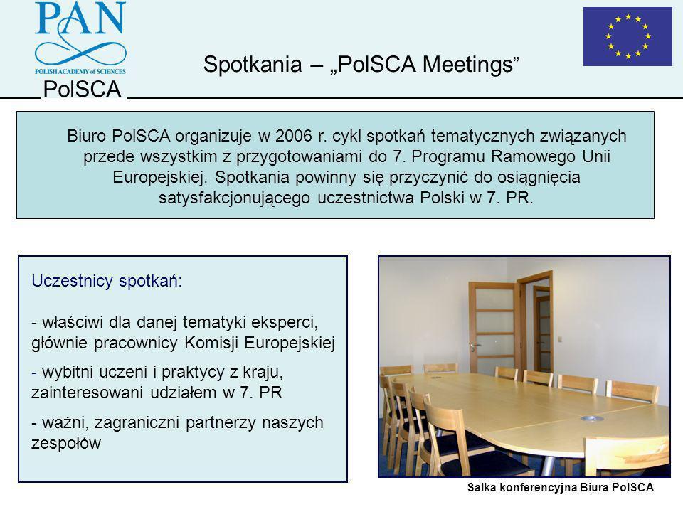 "Spotkania – ""PolSCA Meetings"