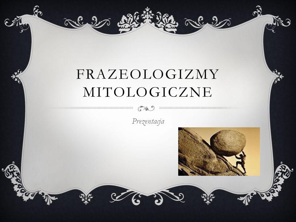 Frazeologizmy mitologiczne