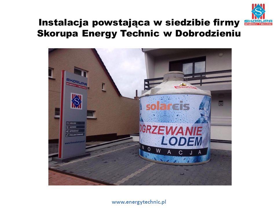 Instalacja powstająca w siedzibie firmy Skorupa Energy Technic w Dobrodzieniu