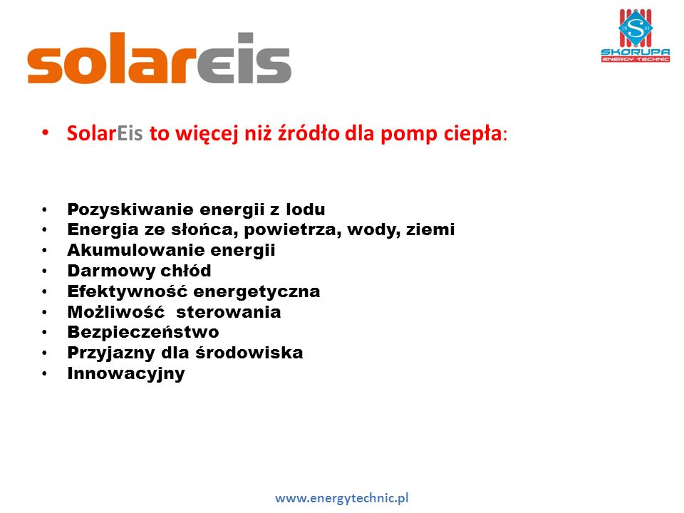 SolarEis to więcej niż źródło dla pomp ciepła: