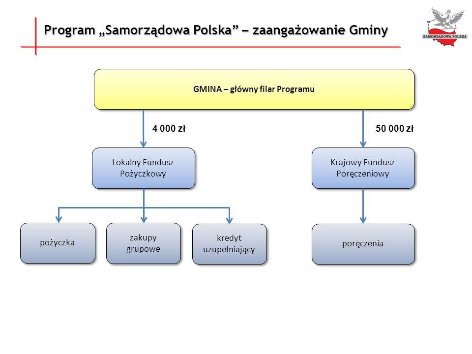 GMINA – główny filar Programu