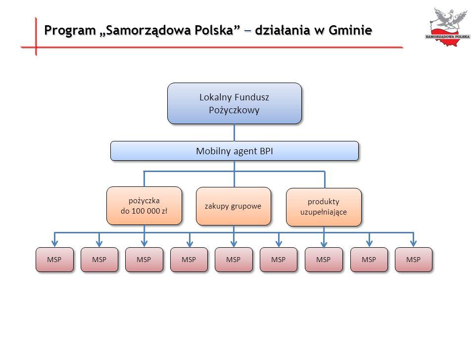 """Program """"Samorządowa Polska – działania w Gminie"""