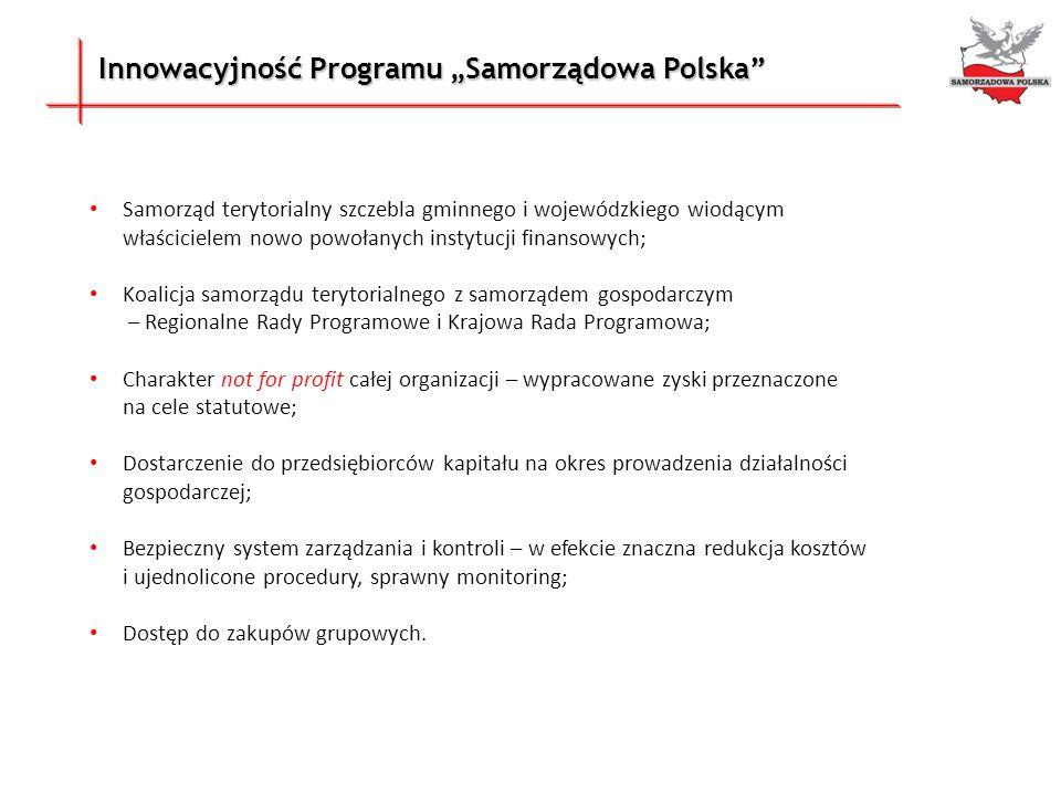 """Innowacyjność Programu """"Samorządowa Polska"""