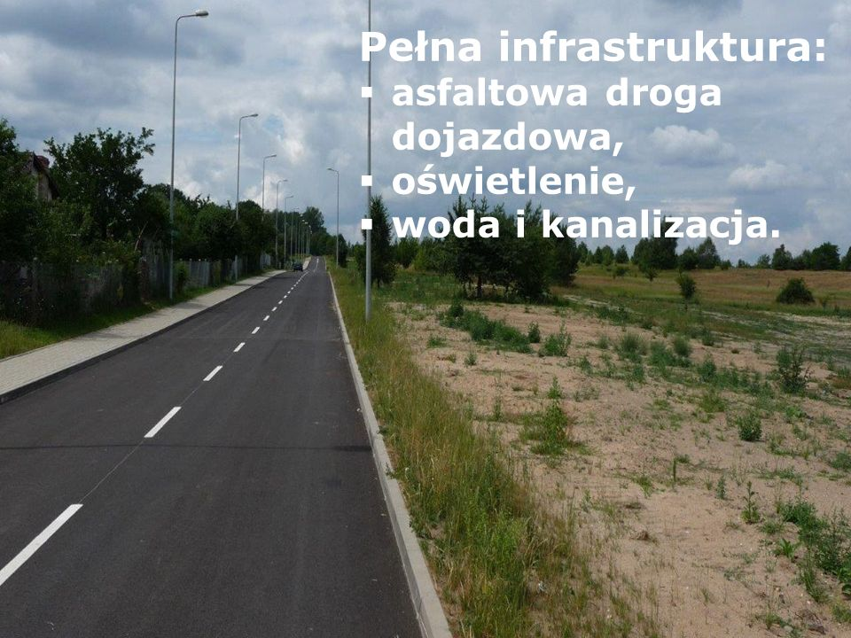 Pełna infrastruktura: