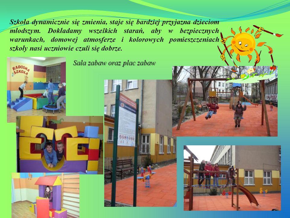 Szkoła dynamicznie się zmienia, staje się bardziej przyjazna dzieciom młodszym. Dokładamy wszelkich starań, aby w bezpiecznych warunkach, domowej atmosferze i kolorowych pomieszczeniach szkoły nasi uczniowie czuli się dobrze.