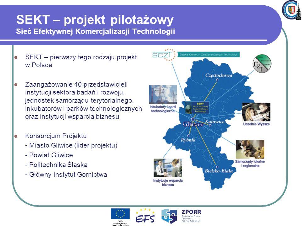 SEKT – projekt pilotażowy Sieć Efektywnej Komercjalizacji Technologii