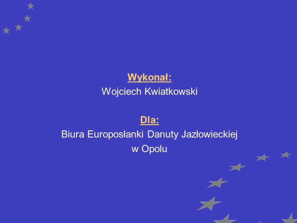 Biura Europosłanki Danuty Jazłowieckiej