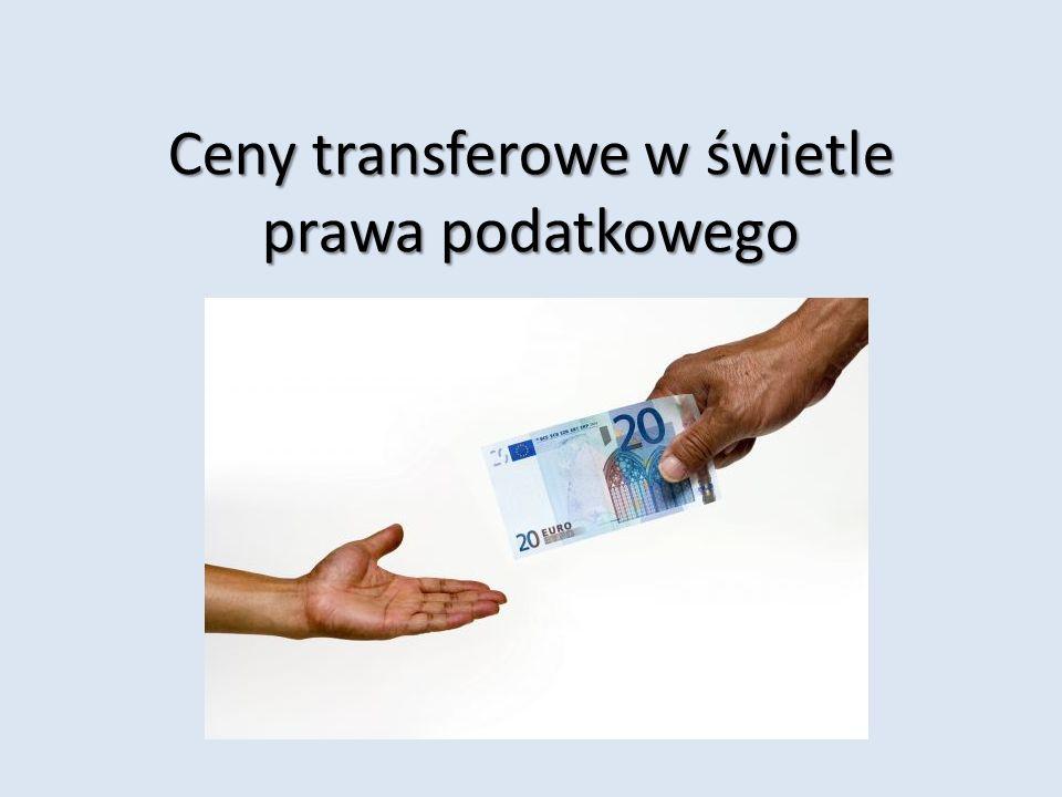 Ceny transferowe w świetle prawa podatkowego