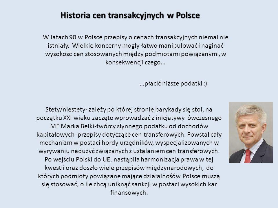 Historia cen transakcyjnych w Polsce