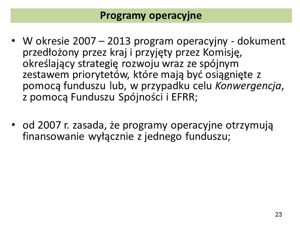Programy operacyjne