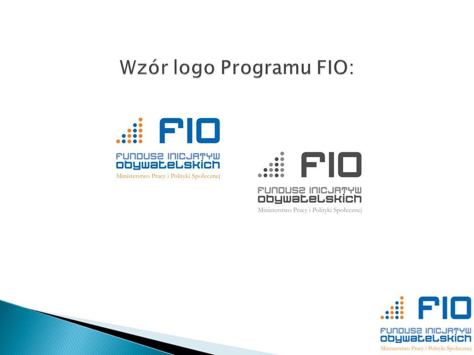 Wzór logo Programu FIO:
