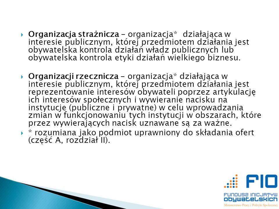 Organizacja strażnicza - organizacja