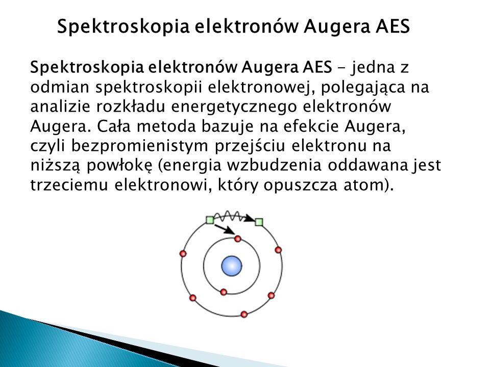 Spektroskopia elektronów Augera AES