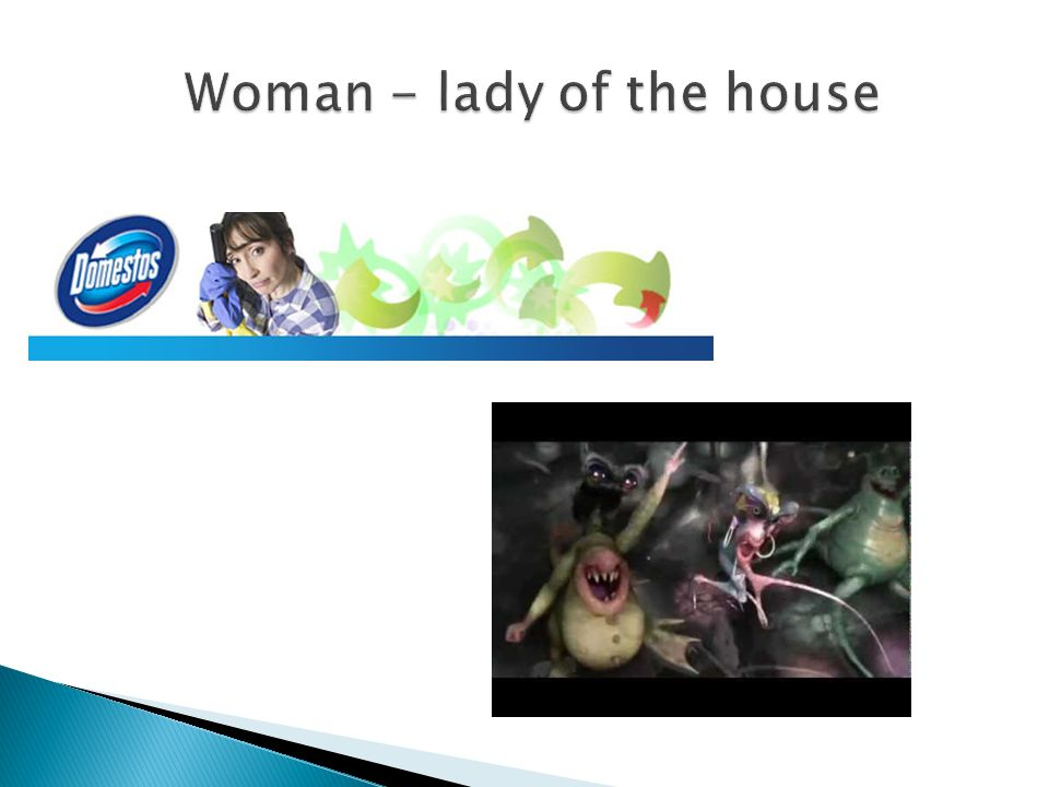 Woman - lady of the house