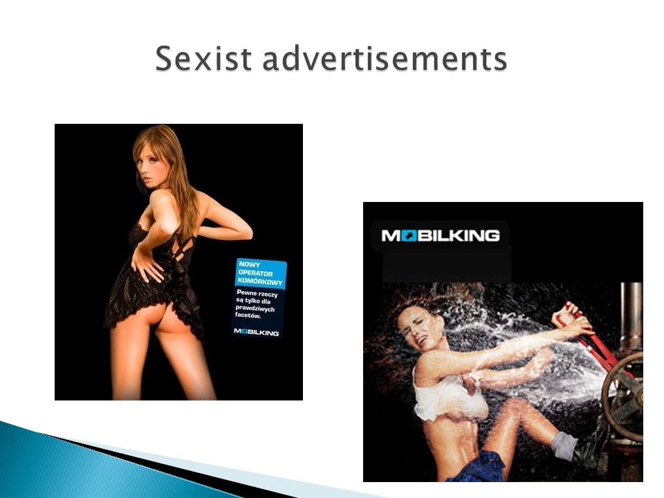 Sexist advertisements