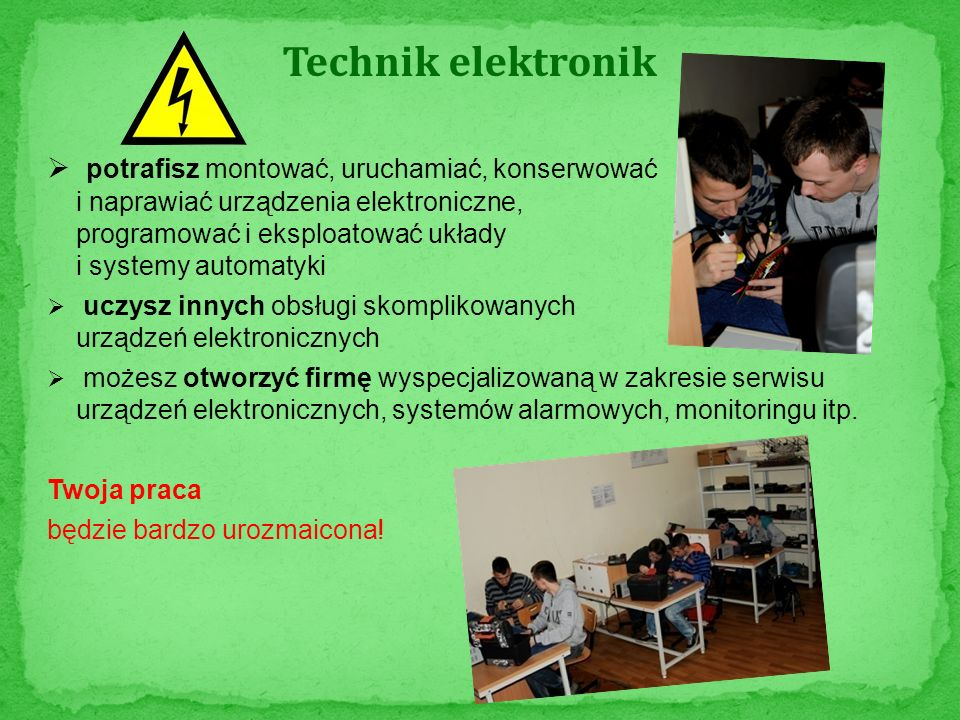 Technik elektronik