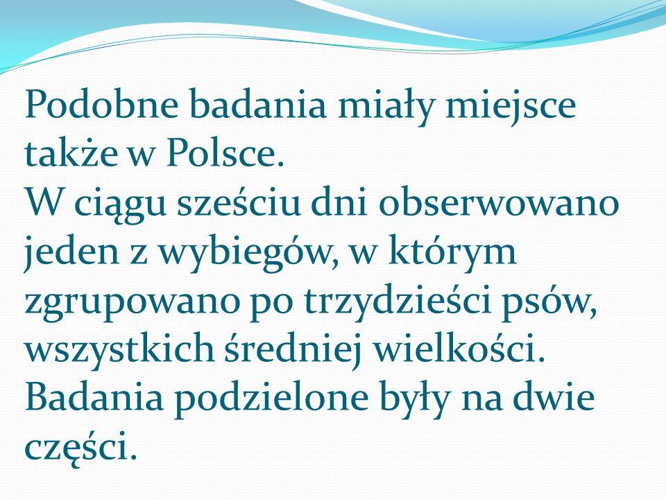 Podobne badania miały miejsce także w Polsce