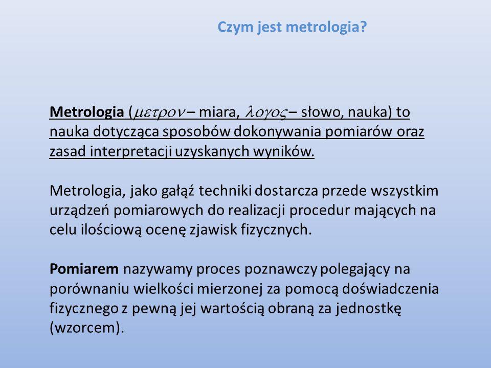 Czym jest metrologia