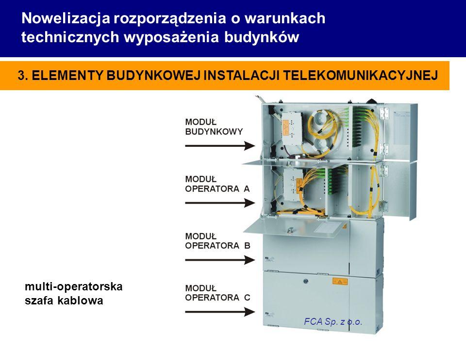 Nowelizacja rozporządzenia o warunkach technicznych wyposażenia budynków