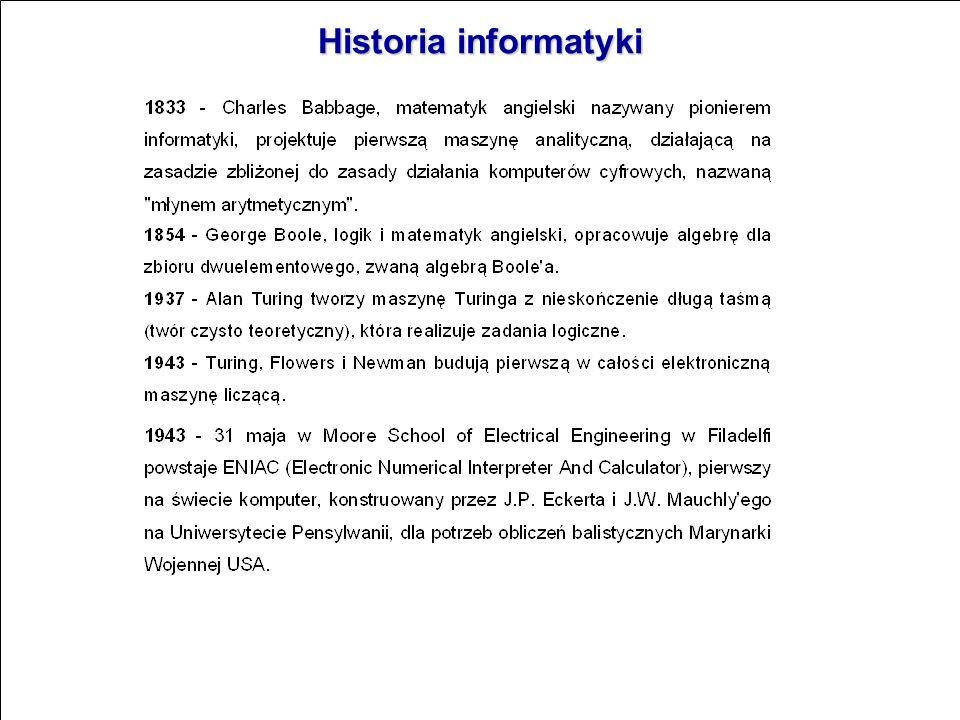 Historia informatyki
