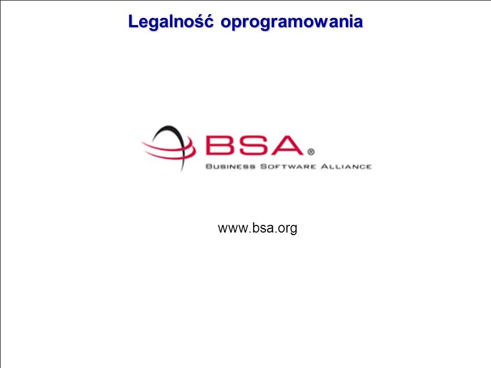 Legalność oprogramowania