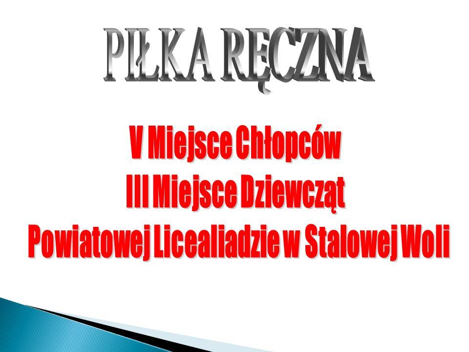 Powiatowej Licealiadzie w Stalowej Woli