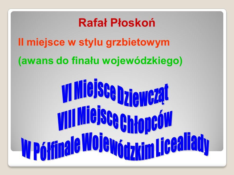 W Półfinale Wojewódzkim Licealiady