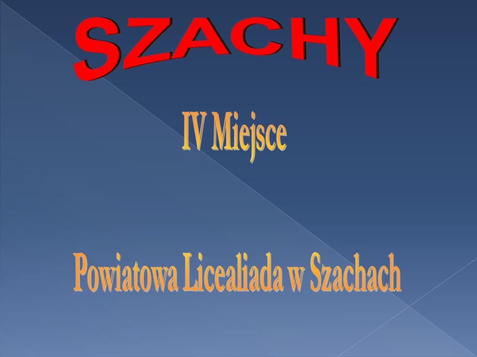 Powiatowa Licealiada w Szachach