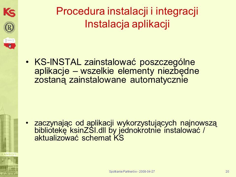 Procedura instalacji i integracji Instalacja aplikacji