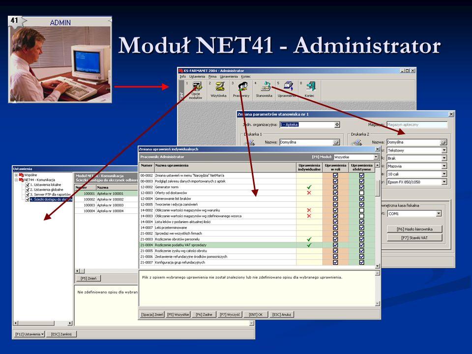 Moduł NET41 - Administrator