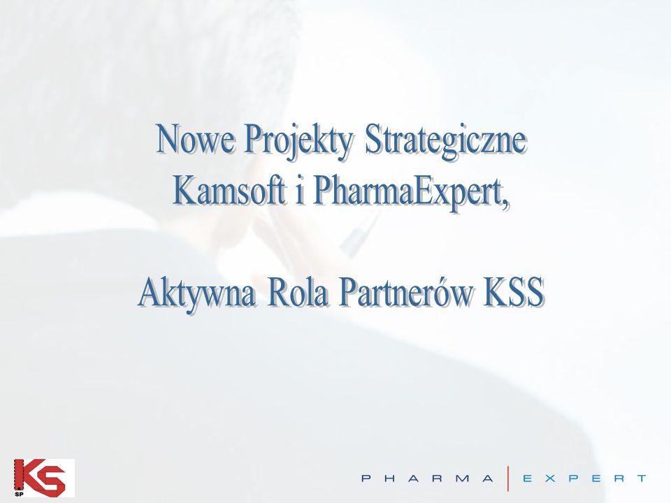 Nowe Projekty Strategiczne Kamsoft i PharmaExpert,