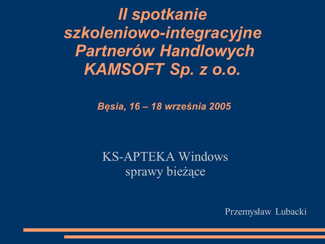 KS-APTEKA Windows sprawy bieżące