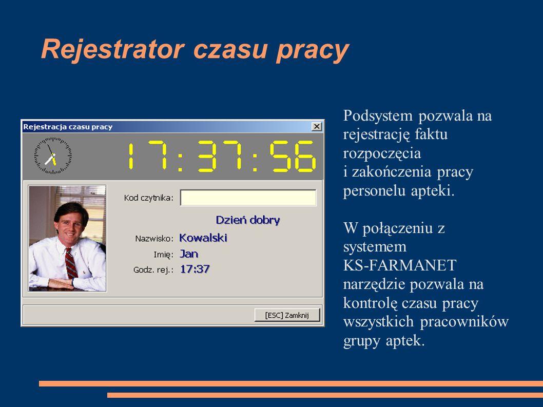 Rejestrator czasu pracy