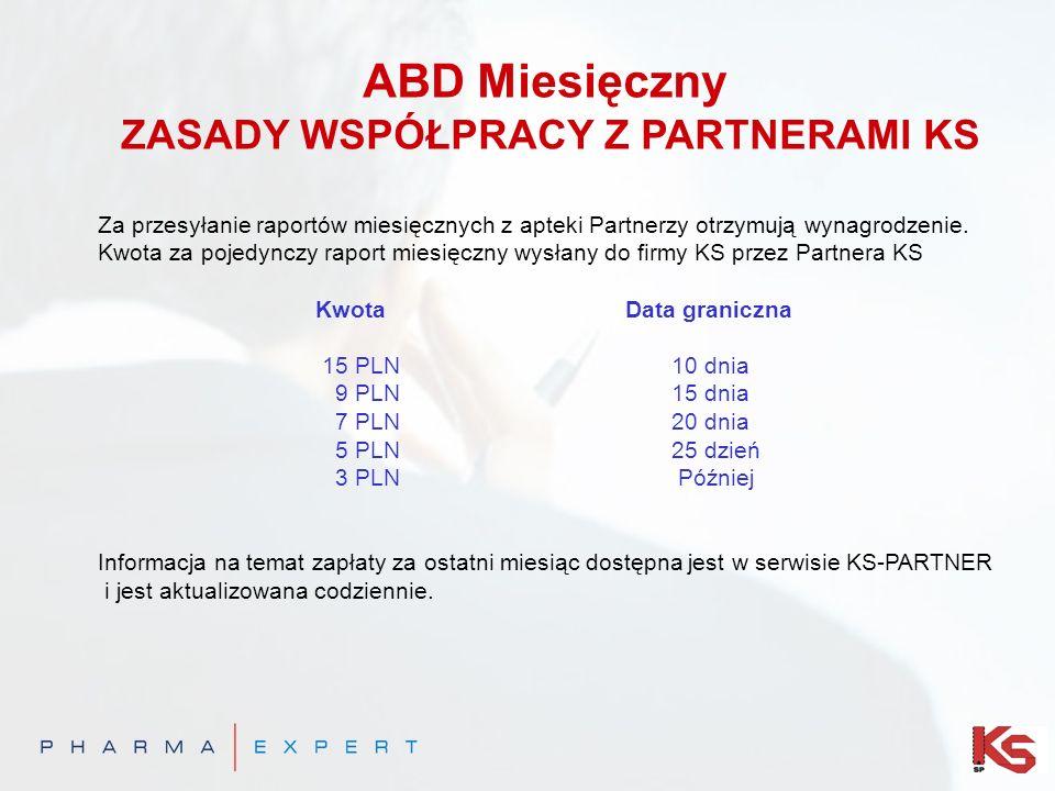 ABD Miesięczny ZASADY WSPÓŁPRACY Z PARTNERAMI KS