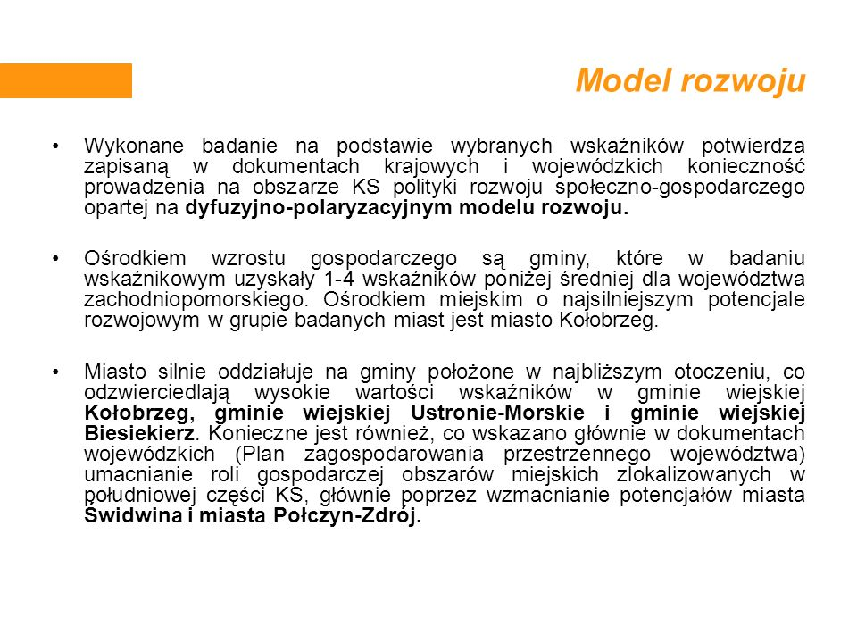 Model rozwoju